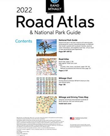 2022 National Park Atlas & Guide (Rand McNally National Park Road Atlas and Travel Guide)