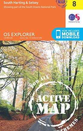 Chichester Map | Weatherproof | South Harting & Selsey | Ordnance Survey | OS Explorer Active Map OL08 | England | Walks | Hiking | Maps | Adventure (OS Explorer Map Active)