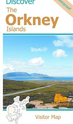 Discover The Orkney Islands - Visitor Map (Discover map series)