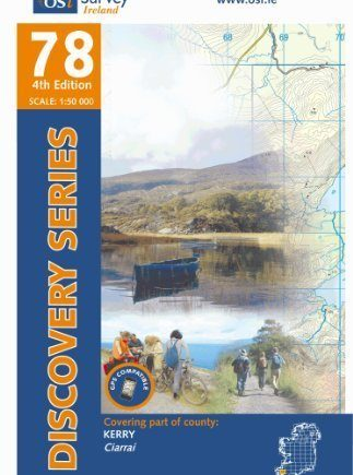 Discovery Map 78 Kerry (Discovery Maps) (Irish Discovery Series) 4th Revised edition by Ordnance Survey Ireland (2010) Paperback