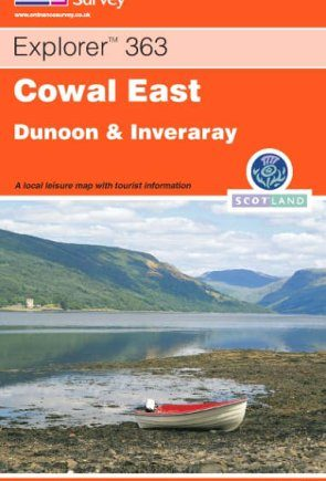 Ordnance Survey Explorer Map 363 Cowal East, Dunoon & Inverary