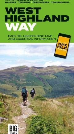 West Highland Way: Easy-to-use folding map and essential information, with custom itinerary planning for walkers, trekkers, fastpackers and trail runners (Big Trails Guidemaps): 4