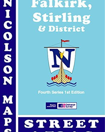 Falkirk, Stirling and District Street Atlas: Including Clackmannanshire (Nicolson Maps Street Atlas)